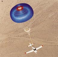 Cirrus parachute deployment