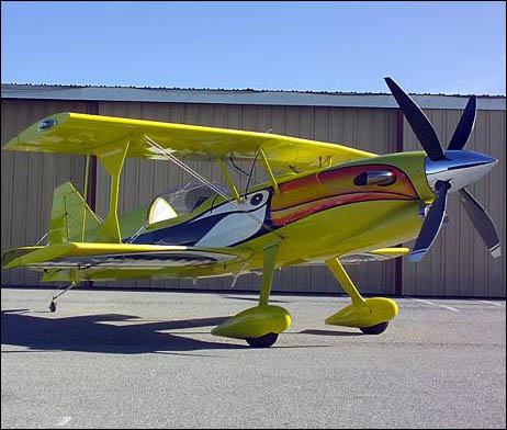 Turbine Toucan biplane