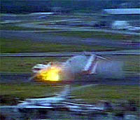 Crash during a commuter aircraft demonstration