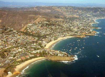 Overview of Laguna Beach