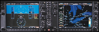 Garmin G1000 instrument panel