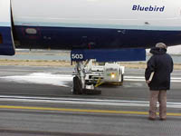 Jet Blue Flight 292 damage