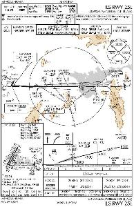 McCarren ILS 25L approach plate