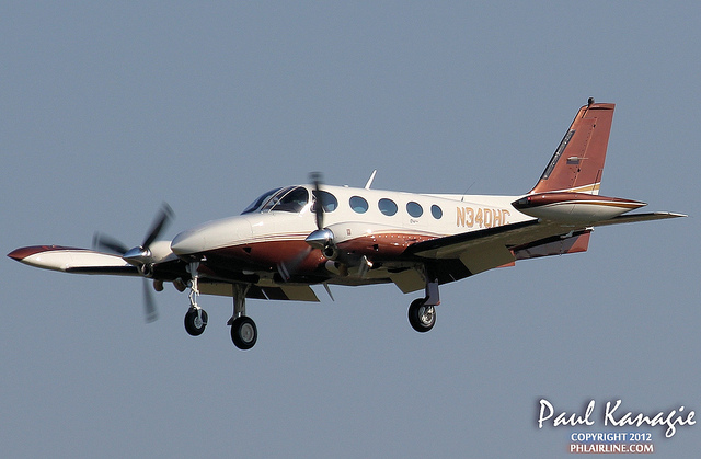 The O&N Cessna 340 turbine conversion