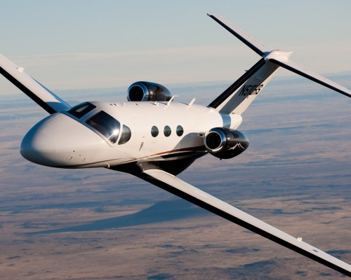 "The Citation Mustang, a ""very light jet"" (though not an inexpensive one!)"