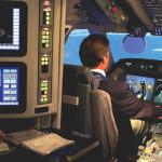 Gulfstream G550 simulator