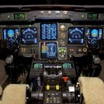 SPZ-8400 avionics suite in the Gulfstream IV-SP