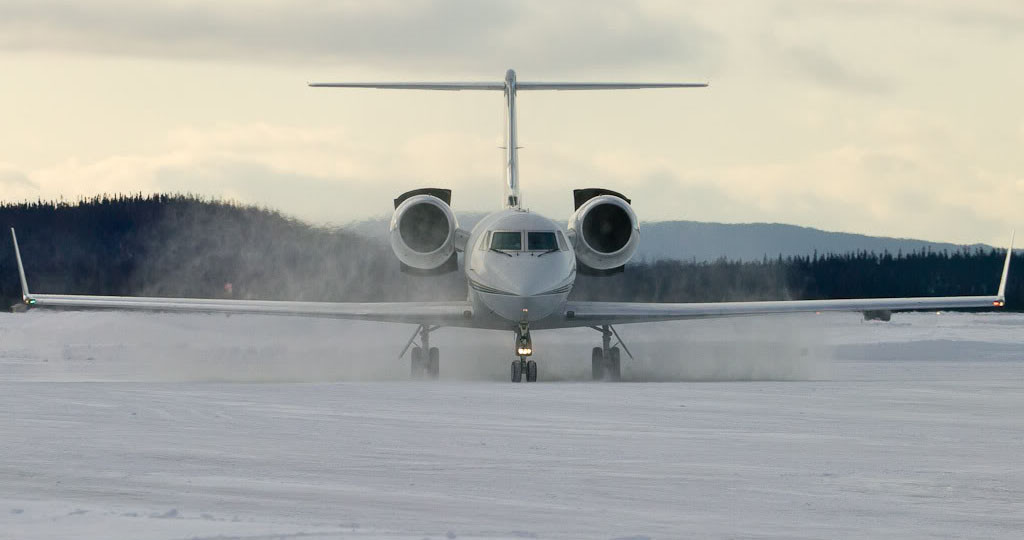 Gulfstream on Ice
