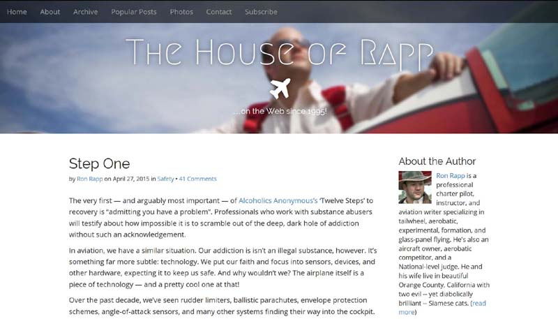 """The House of Rapp design of 2015: upgraded for """"retina"""" high definition screens"""