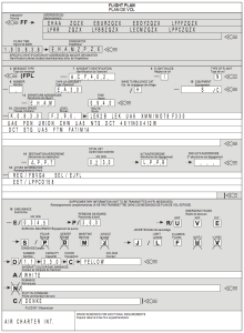 If you're not familiar with this, you will be soon!  It's going to replace the FAA's much simpler IFR flight plan form.