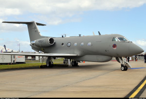 This Lockheed-modified G-III is used for ISR missions.