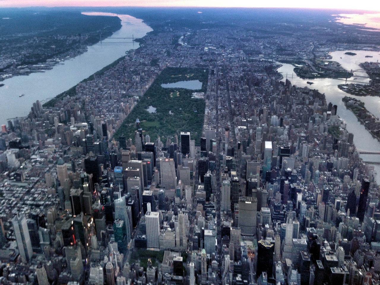 "I assume that ""big apple"" everyone's always talking about must be down there in Central Park somewhere..."
