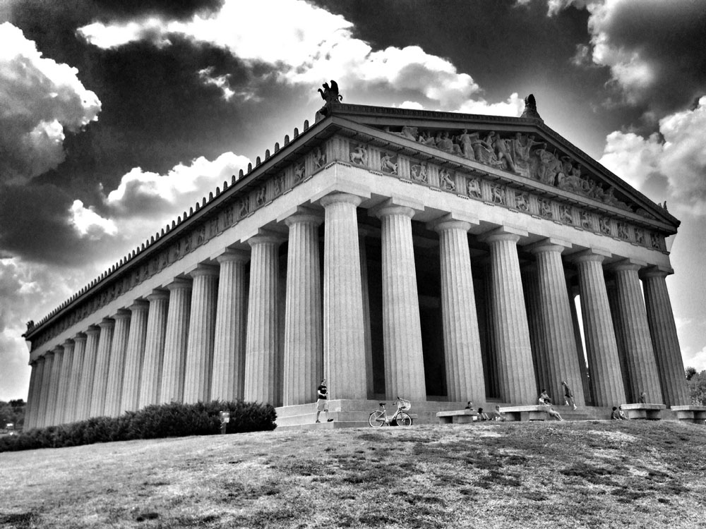 "This Parthenon replica gave Nashville the nickname ""Athens of the South""."