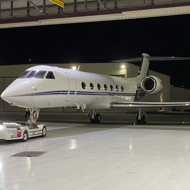 Getting up at 3 am isn't anyone's favorite part of the job. But flying these incredible machines and experiencing the finest sunrises, vistas, and people imaginable more than make up for it. #gulfstream #avgeek