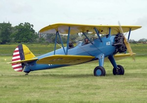 The Stearman is a World War II-era, fabric-covered radial engine tailwheel trainer.